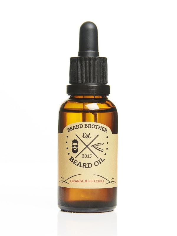 Beard Brother - Beard Oil Orange & Red Chili