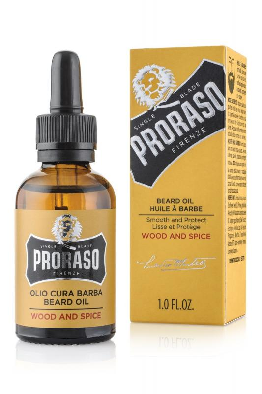 Proraso - Beard Oil Wood And Spice
