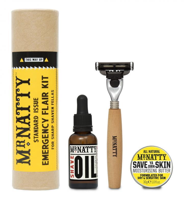 Mr Natty - Mr Natty Emergency Flair, Shave Kit
