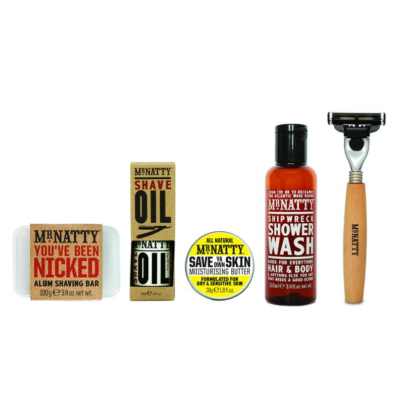 Mr Natty - Travel Wash Kit, Shave