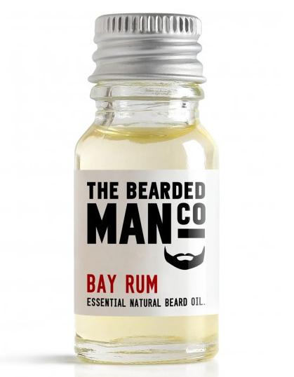 The Bearded Man Company - Beard Oil Bay Rum 10 ml