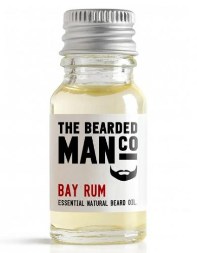 The Bearded Man Company - Beard Oil Bay Rum 10 ml