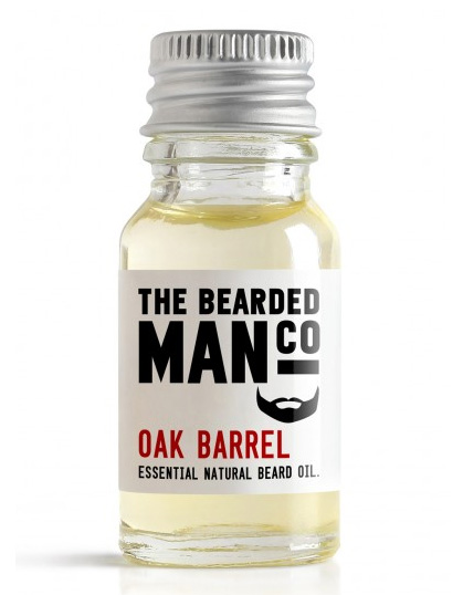The Bearded Man Company Beard Oil Oak Barrel 10 ml