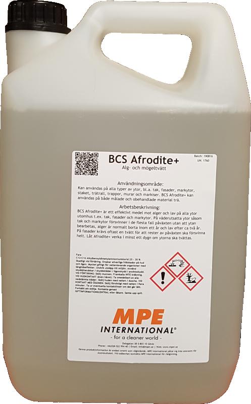 BCS Afrodite+, Fasadtvätt