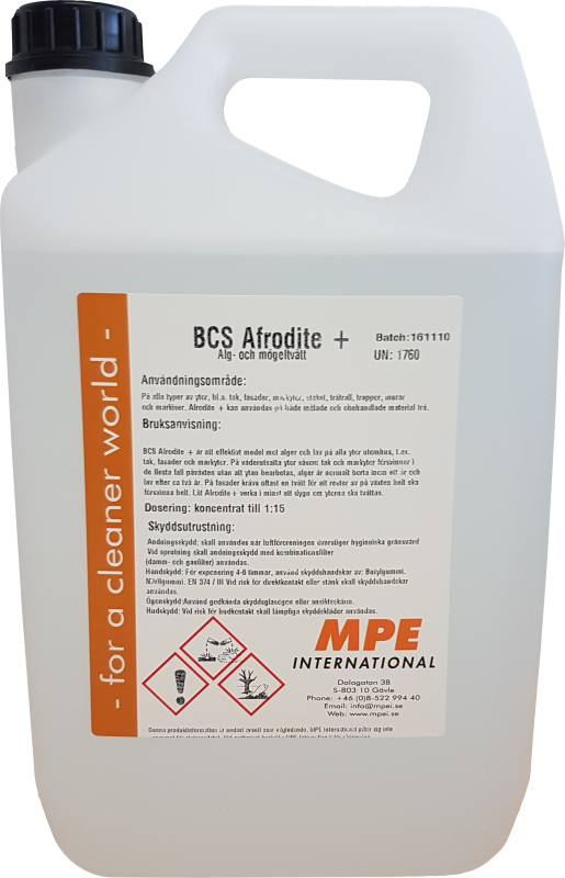 BCS Afrodite+, Facade Cleaning