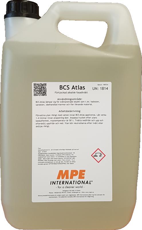 BCS Atlas, Fasadtvätt