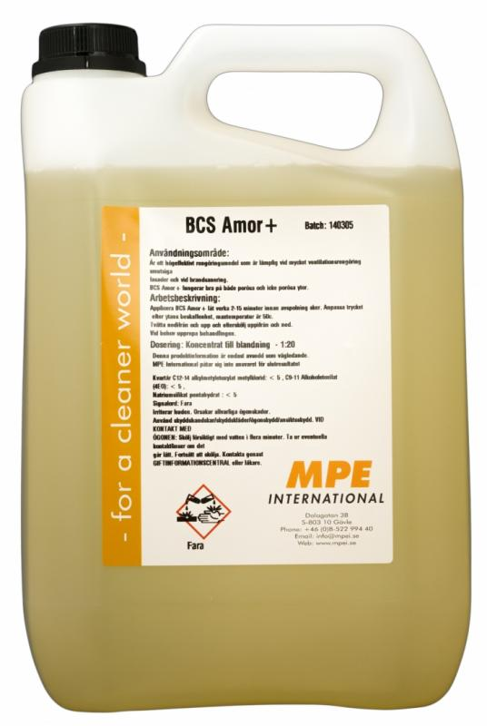 BCS Amor, Facade Cleaning (5 L)