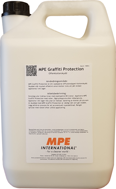 MPE Graffiti Protection