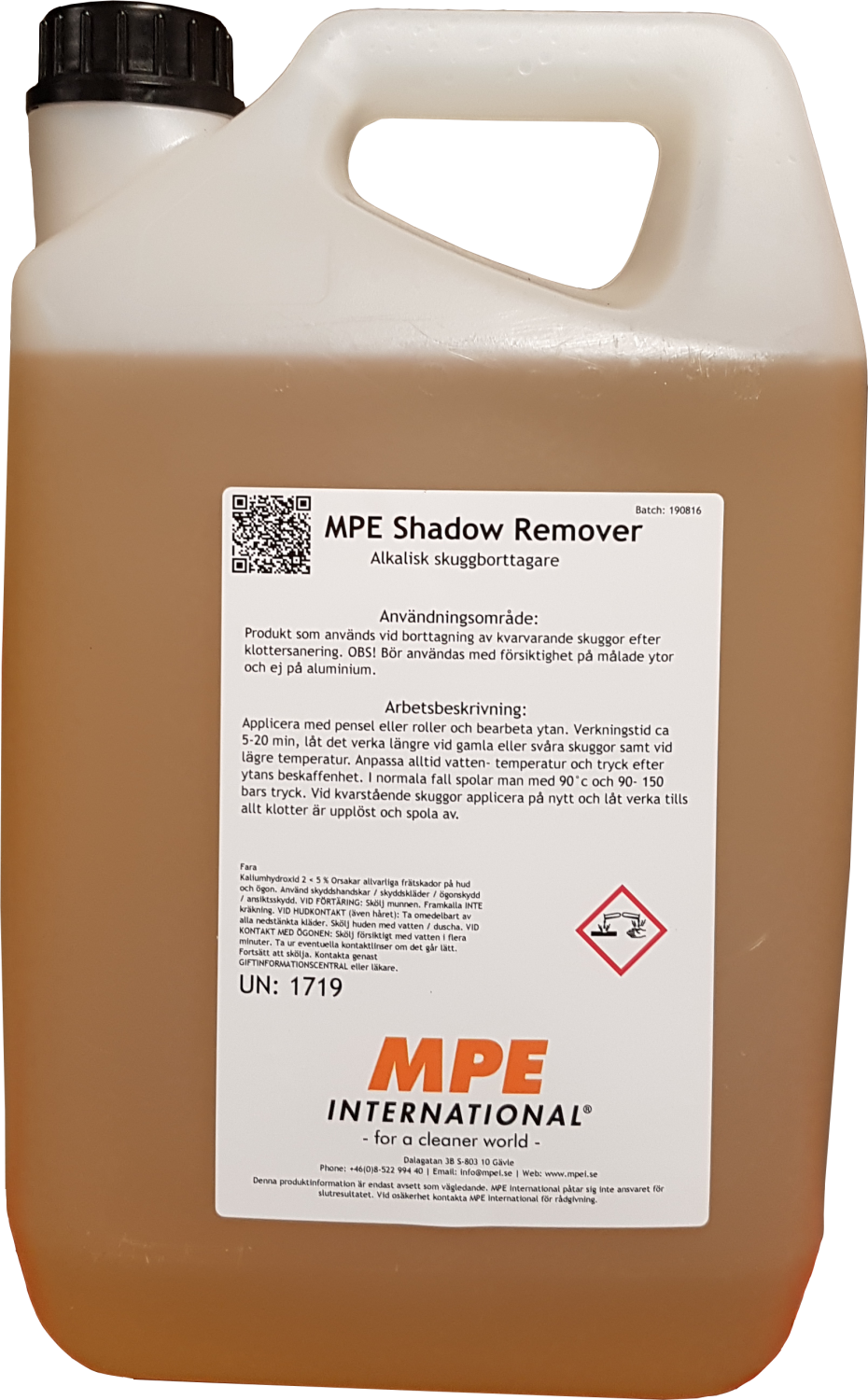 MPE Shadow Remover