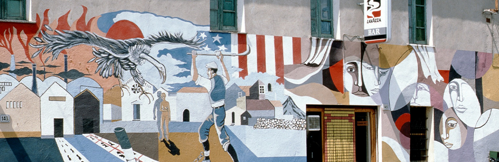 Muralmålningar - konst eller klotter?