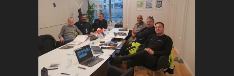 Klottersaneringsutbildning i Stockholm