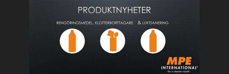 3 nya produkter