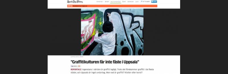 Graffiti - klotter eller konst?