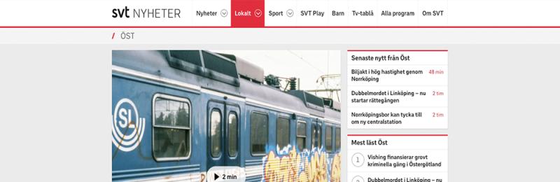 Hur och när kom graffitin till Sverige?