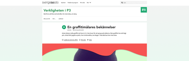 PODDTIPS - En graffitimålares bekännelser