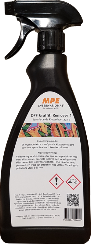 OFF Graffiti Remover 1