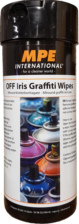 OFF Iris Graffiti Wipes