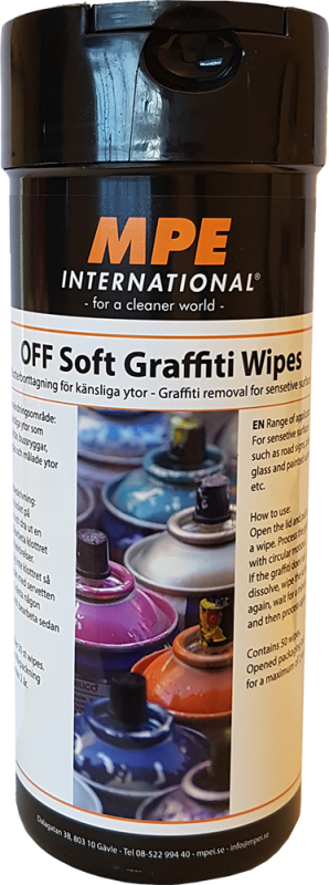 OFF Soft Graffiti Wipes