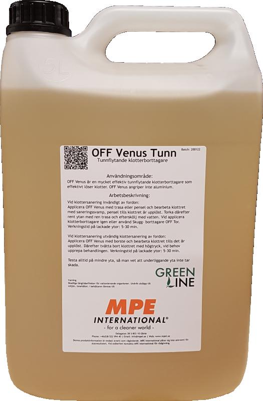 OFF Venus Tunn, Tunnflytande Klotterborttagare