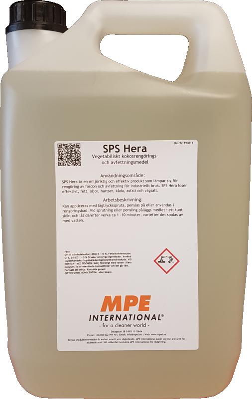 SPS Hera, Miljöriktig Avfettning