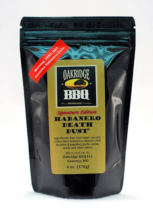 Oakridge BBQ Habanero Death Dust Rub
