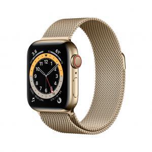 Apple Watch Series 6 med Milanesisk Loop (2020)