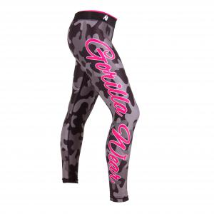 Camo tights Black/grey