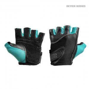 BB Womens Fitness Gloves Black/Aqua