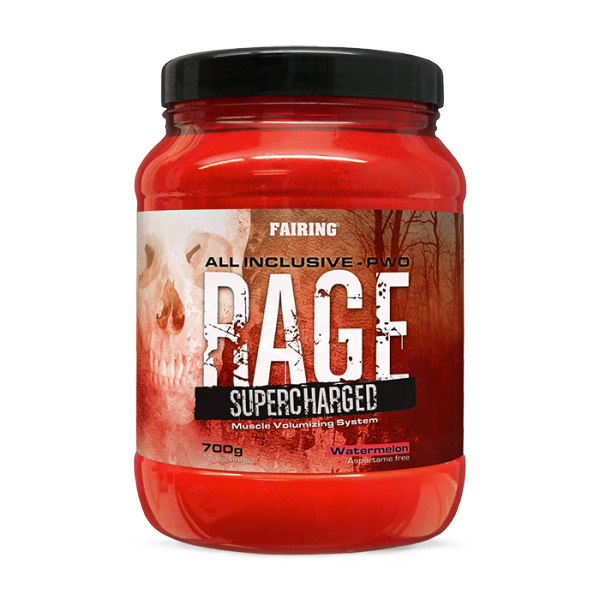 Rage Supercharged 700g Tropical Orange