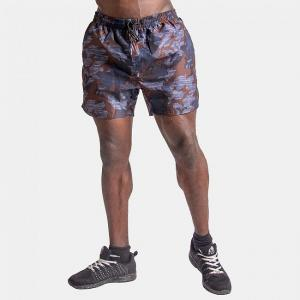 Bailey Shorts, Blue Camo