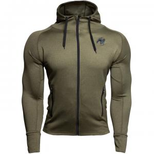 Bridgeport Zipped Hoodie, army green