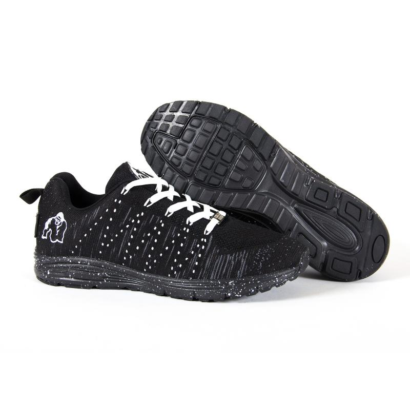Brooklyn Knitted Sneakers Black/White