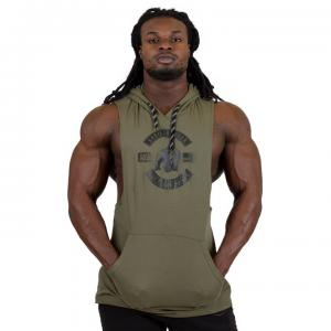 Lawrence Hooded Tank Top, Army