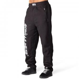 Augustine Old School Pants, Black