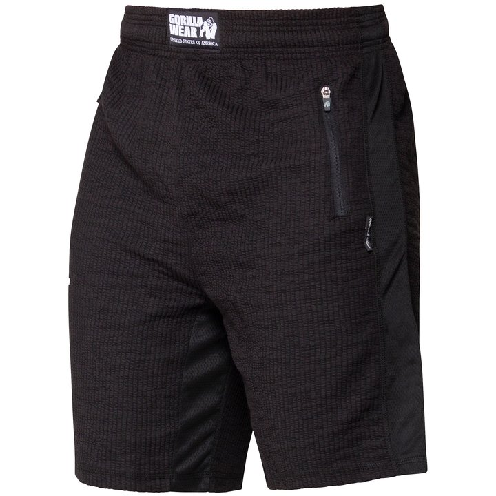 Augustine Old School Shorts, Black