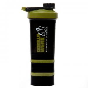 Shaker 2 Go 760 ml, black/army green