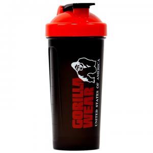 Shaker XXL 1000 ml, black/red