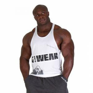 GW Stringer Top Tank, White