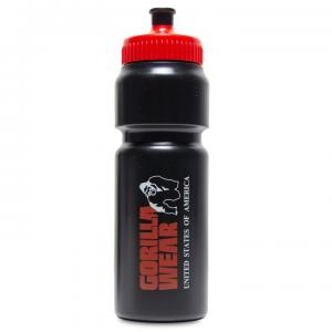 Classic Sports Bottle 750 ml, black/red