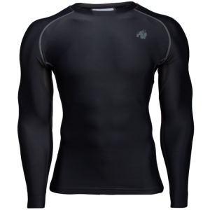 Hayden Compression Longsleeve, black/grey