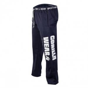 Logo Mesh Pants Blue