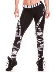 Camo Combi Tights, white camo