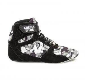 Perry High Tops Pro, black/grey camo