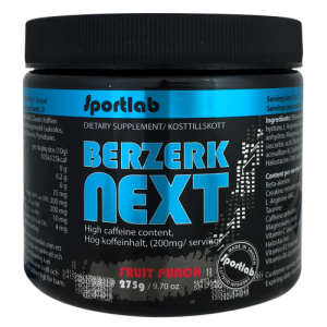 Berzerk Next 275g Fruit Punch