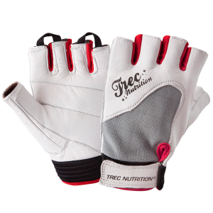 Womens Fitness Gloves White-Grey