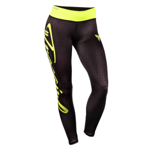 Leggings Trecgirl 03, Black/Yellow