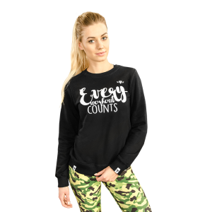 SWEATSHIRT TRECGIRL 09,  Strong Black