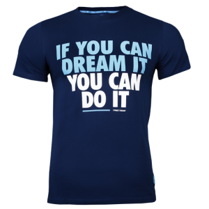 T-Shirt 036 If You Can, Navy