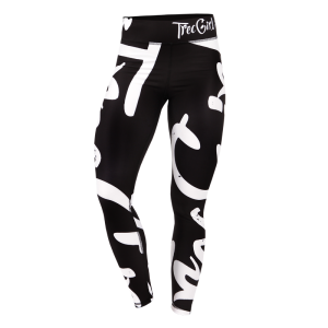 Leggings Trecgirl 13, Black/White