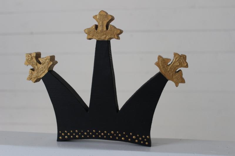 Krona med tre armar